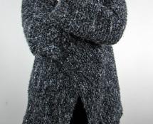 jak wykonać sweter z prostokąta na drutach