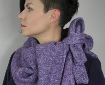 sfilcowany sweter
