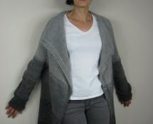 sweter z prostokąta kocyk