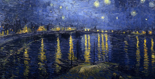 Starry_Night_Over_the_Rhone_Van Gogh