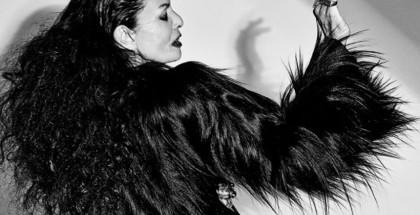o stylu z Michele Lamy: tatuaże, złote zęby i rock'n'roll