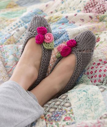 kapcie na drutach