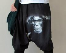 baggy pants haremki wykrój