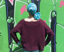 sweter_oversize_cropped_Charisma_YarnArt