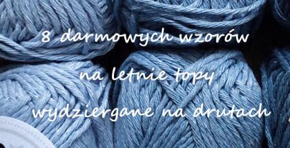 letnie topy na drutach