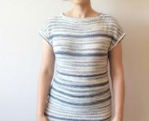 mellow, czyli letnia sukienka wydziergana z bawełny