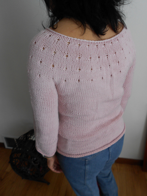 Simple Sweater sweter na drutach