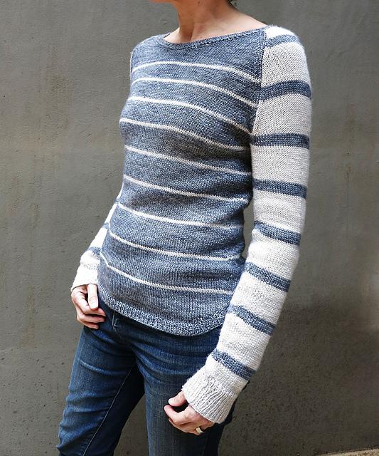 Donna sweter na drutach