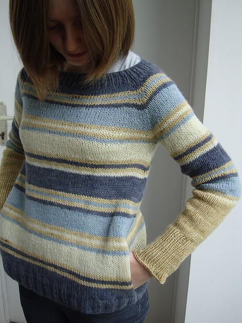 Spring Lines sweter na drutach