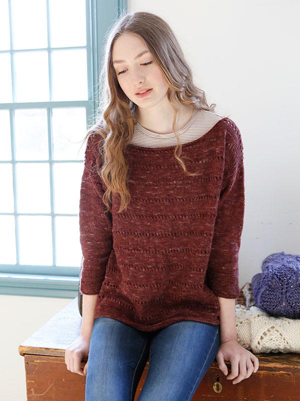 Dianthus sweter na drutach