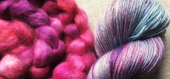 zosia-samosia, czyli przędzenie i farbowanie włóczek