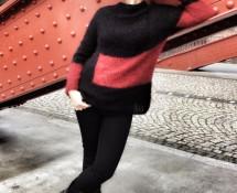 moherowy sweter grunge