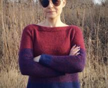 sweter zwyklak z raglanem
