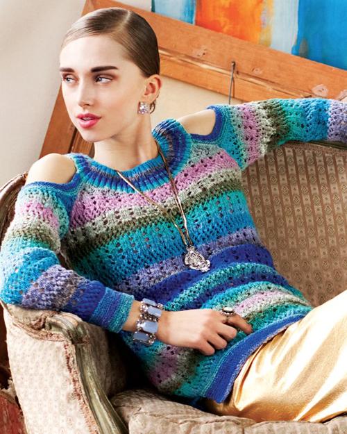trendy w modzie sweter_dziury_na_ramionach