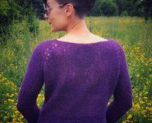 Sweter piórkowy z niespodzianką, czyli nie umiem przestrzegać reguł