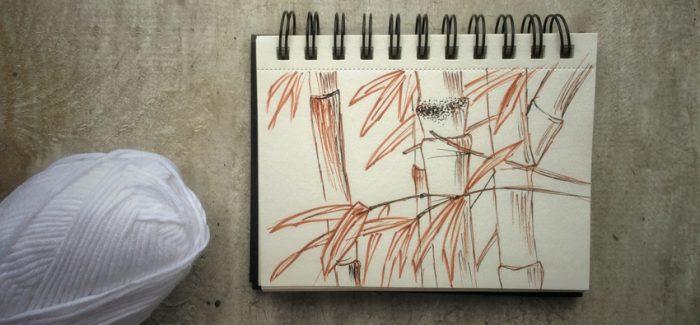 Włóczka bambusowa (wiskoza bambusowa)