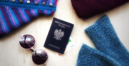 jak ubrać się na podróż