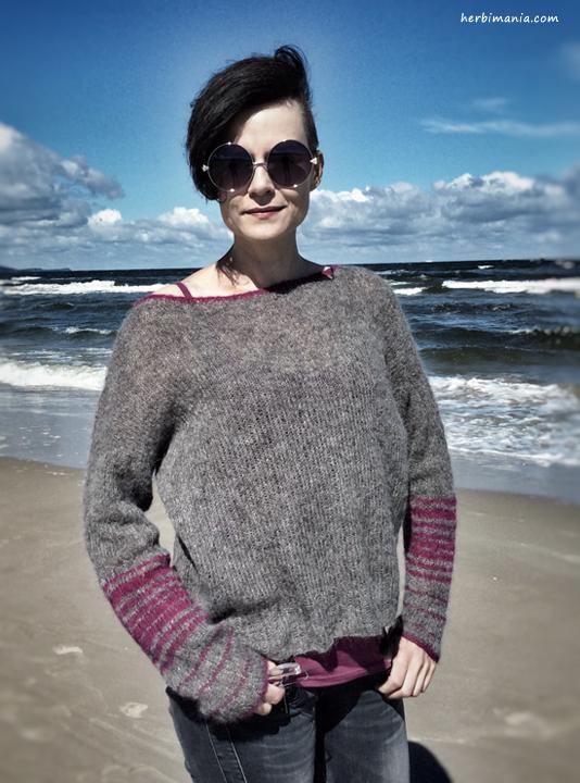 schemat sweterka piorkowego