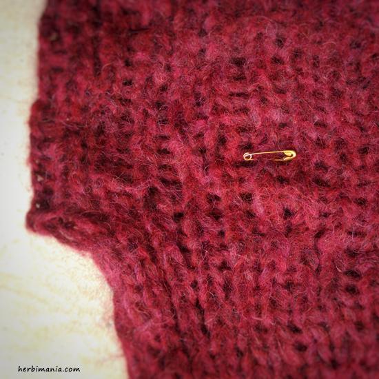 jak skrócić sweter dziergany od dołu