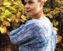letni sweterek na drutach