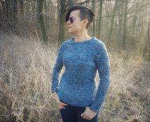 Nadciąga zimowa burza, czyli sweter z warkoczami i przygodami